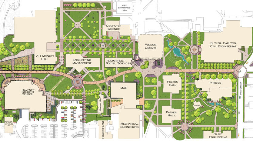 campus planning and design